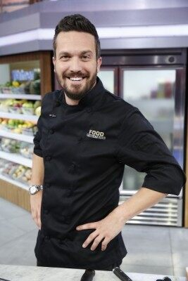 FOOD FIGHTERS -- Pictured: Fabio Viviani -- (Photo by: Greg Gayne/NBC)