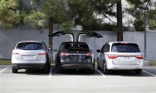 Tesla Unveils New Model X Suv News