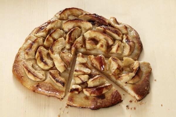 Pizza Apple Galette