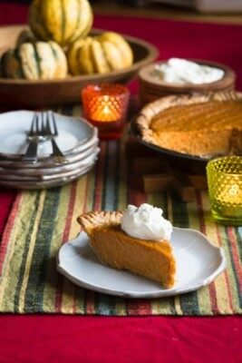 Ginger Pumpkin Pie from The Homemade Kitchen by Alana Chernila. Photo: Jennifer May