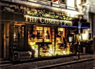 """""""Comedy Pub London"""" by Lukasz Zelezny CC BY 2.0"""