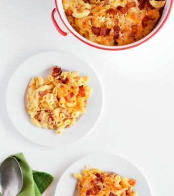 Rachel Hollis/Bacon Mac 'n' Cheese