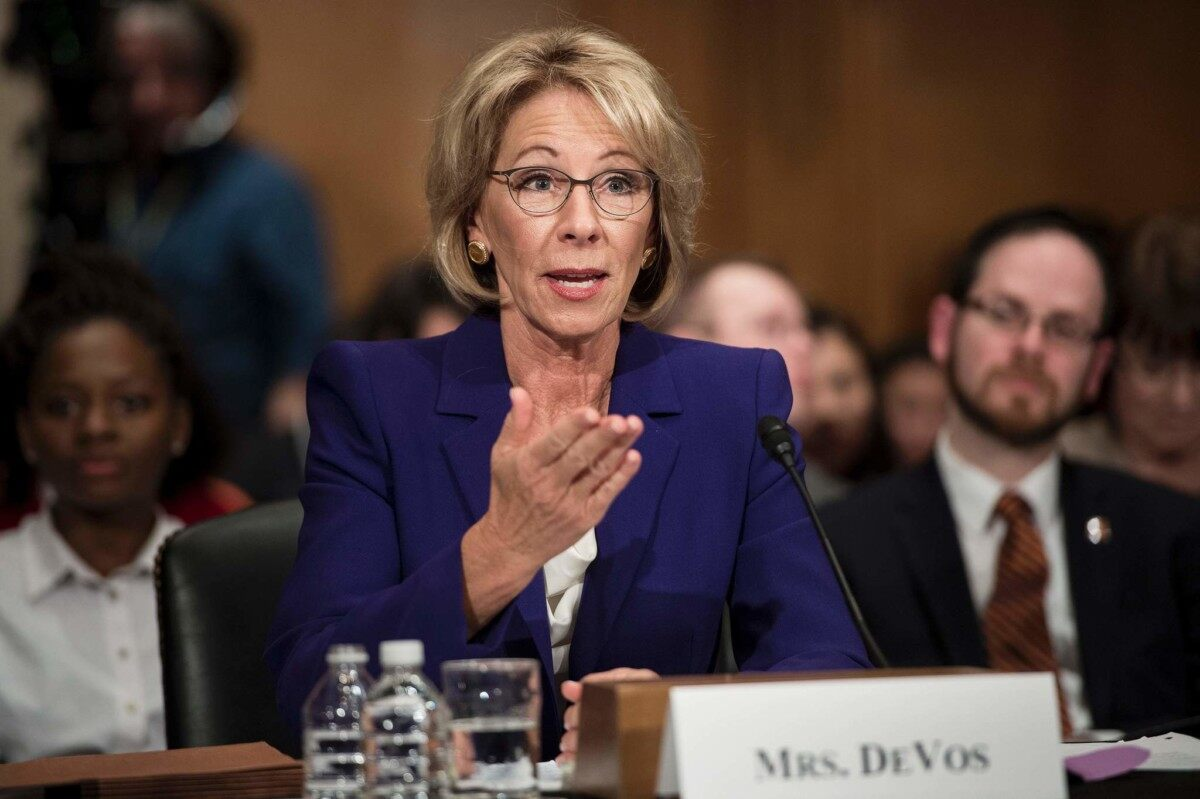 57ee1bdf52e Wall Street Journal Editor Dan Henninger  The DeVos Conflagration Told Us  About the Battle Lines and Issues Of Public Schools In Inner Cities