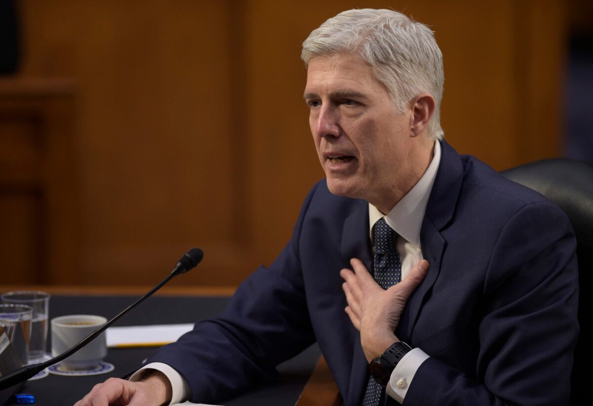 justice neil gorsuch s first day on the job news justice neil gorsuch s first day on the job
