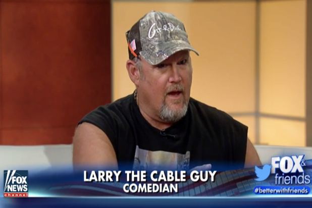 larry the cable guy tour