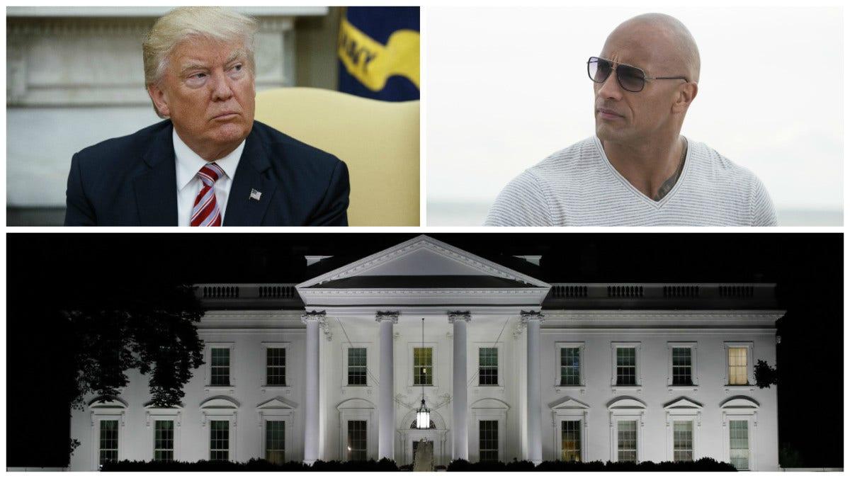 South Florida celeb showdown? Trump vs. 'The Rock' in new 2020 poll