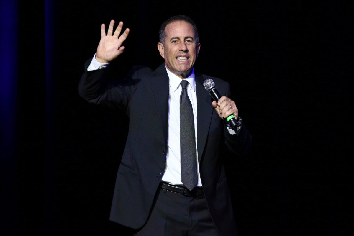 No hug for you! Jerry Seinfeld explains Kesha hug snub