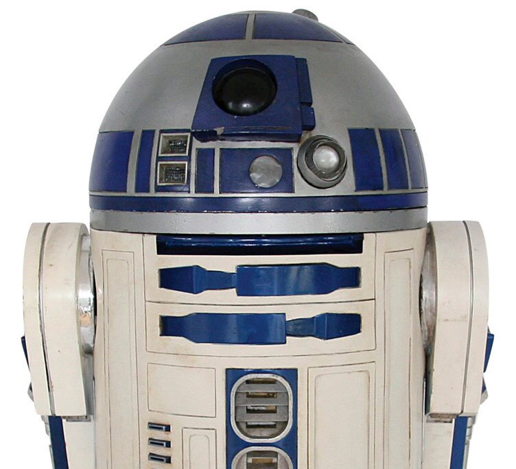 STAR WARS Droid R2-D2 Sells for almost $3 Million at Auction