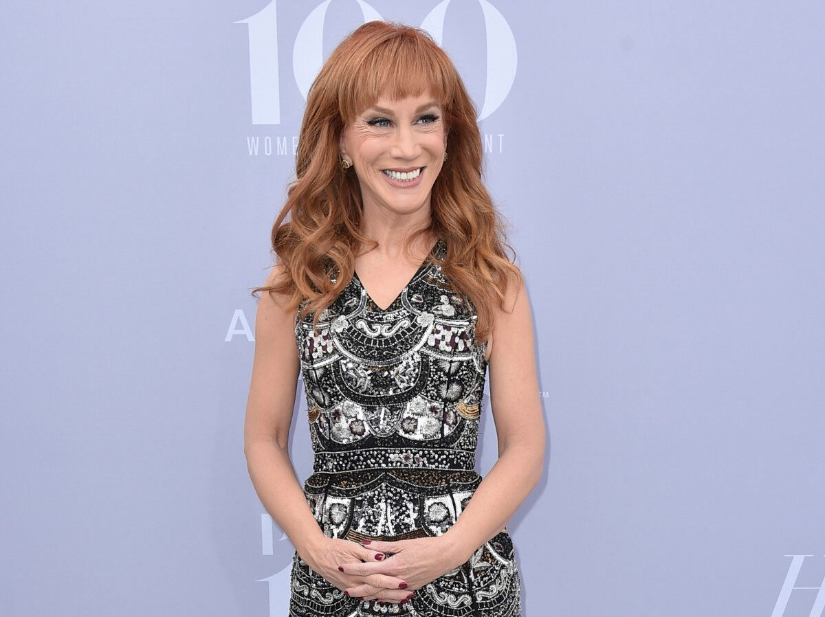 Kathy Griffin says gory Trump photo drama was 'blown out of proportion'