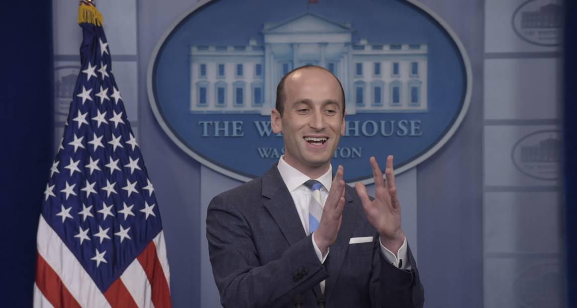 Stephen Miller in running for White House communications director
