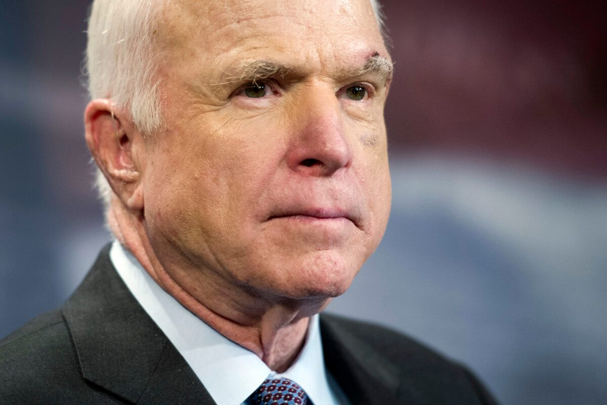 McCain will not support latest Obamacare replacement