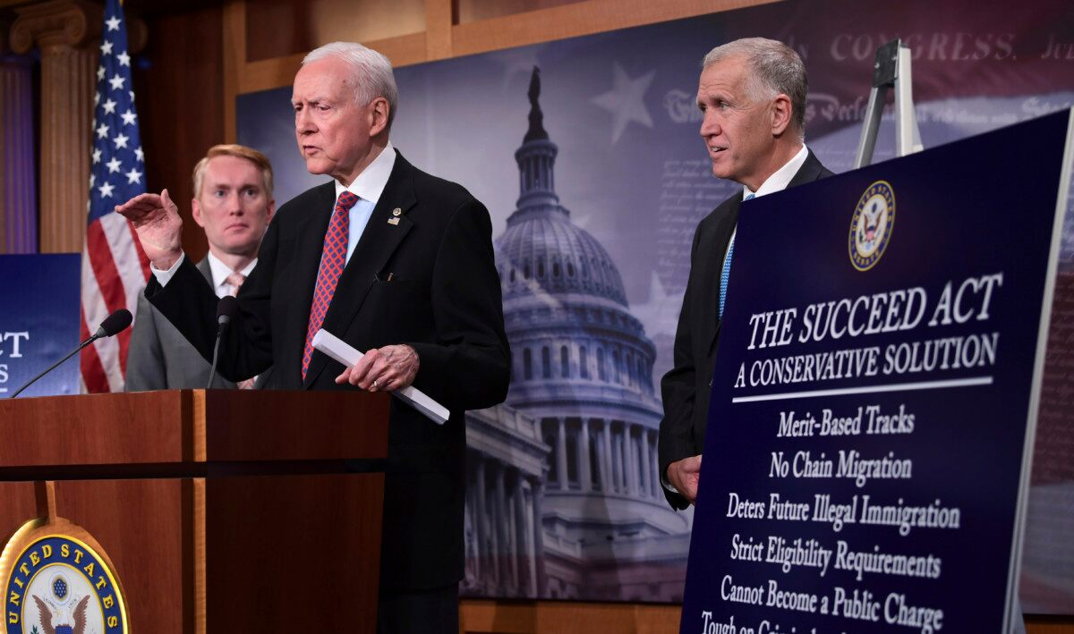 Republican senators offer conservative alternative to DREAM Act