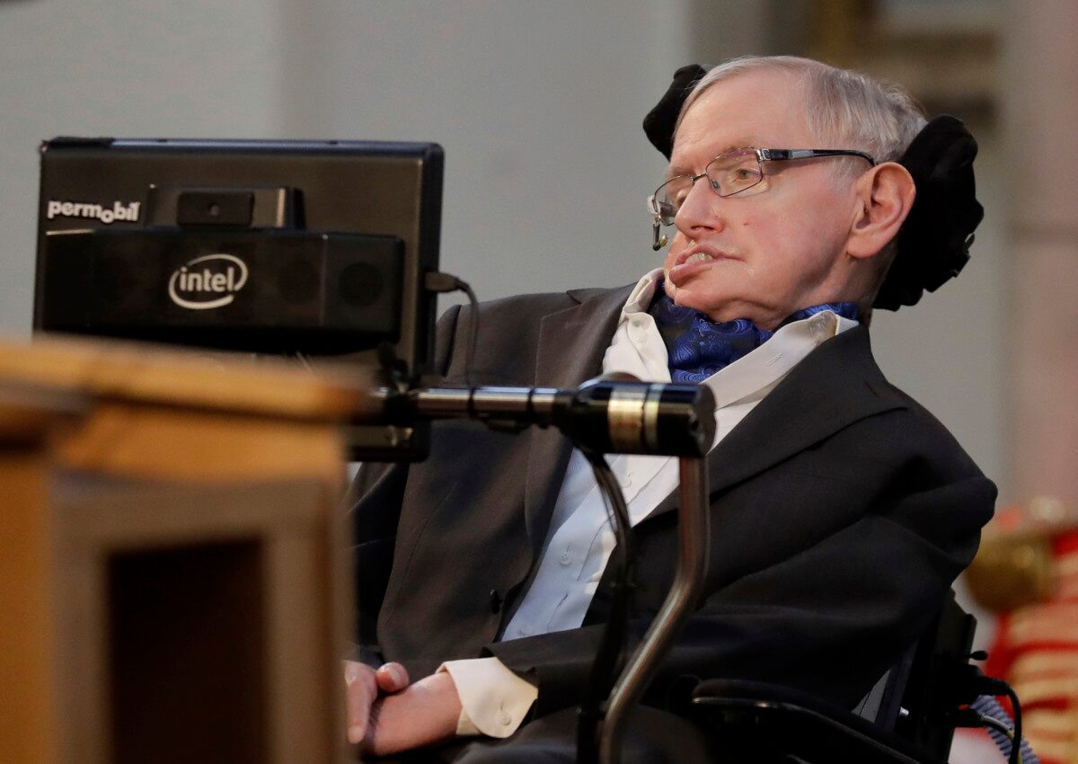 Stephen Hawking's PhD Thesis Made Public, Crashes Website