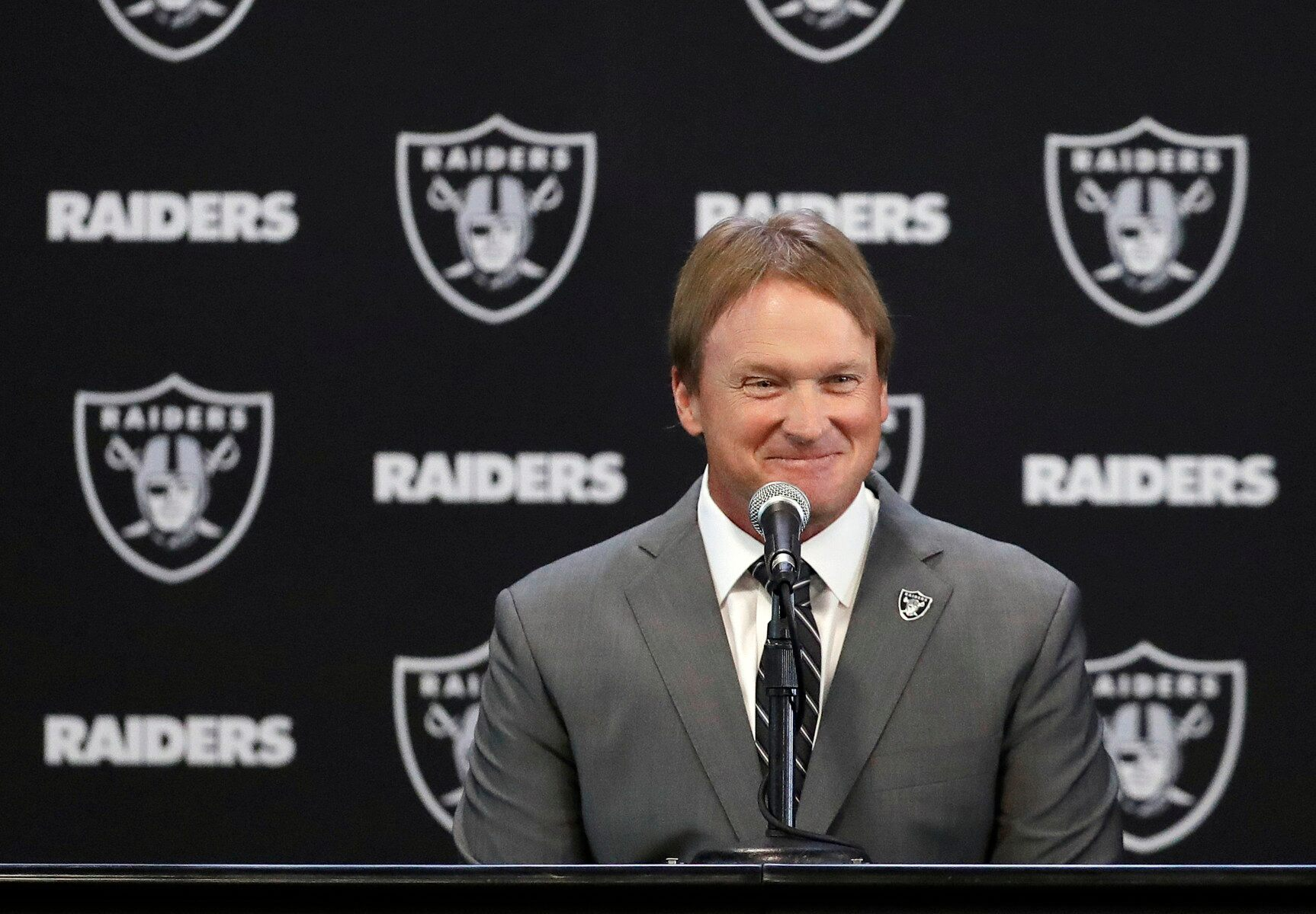 Oakland Raiders Announce Jon Gruden New Head Coach
