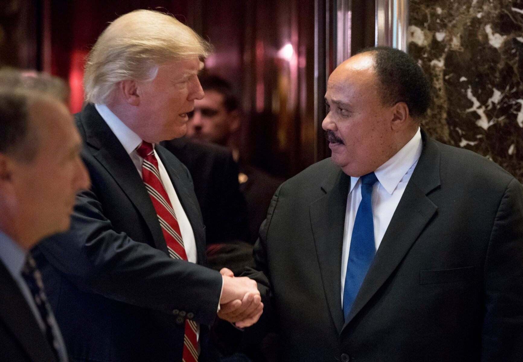 Martin Luther King, III: 'Change is in the air'