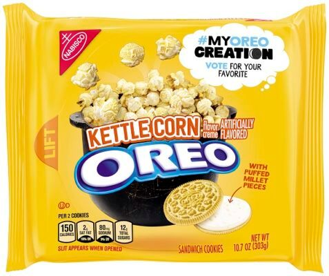 Oreo releases three new flavors for consumers to vote on