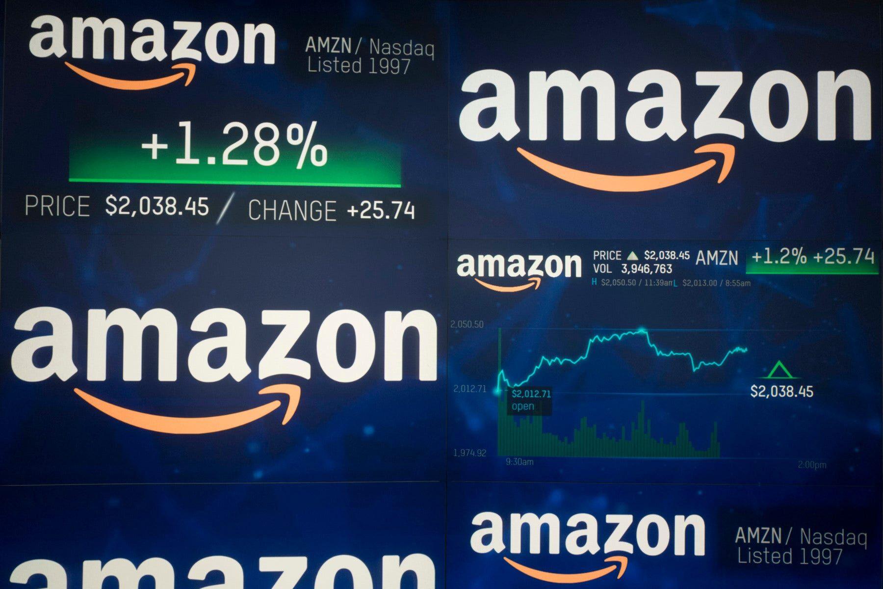 Amazon Hits 1 Trillion In Market Value News
