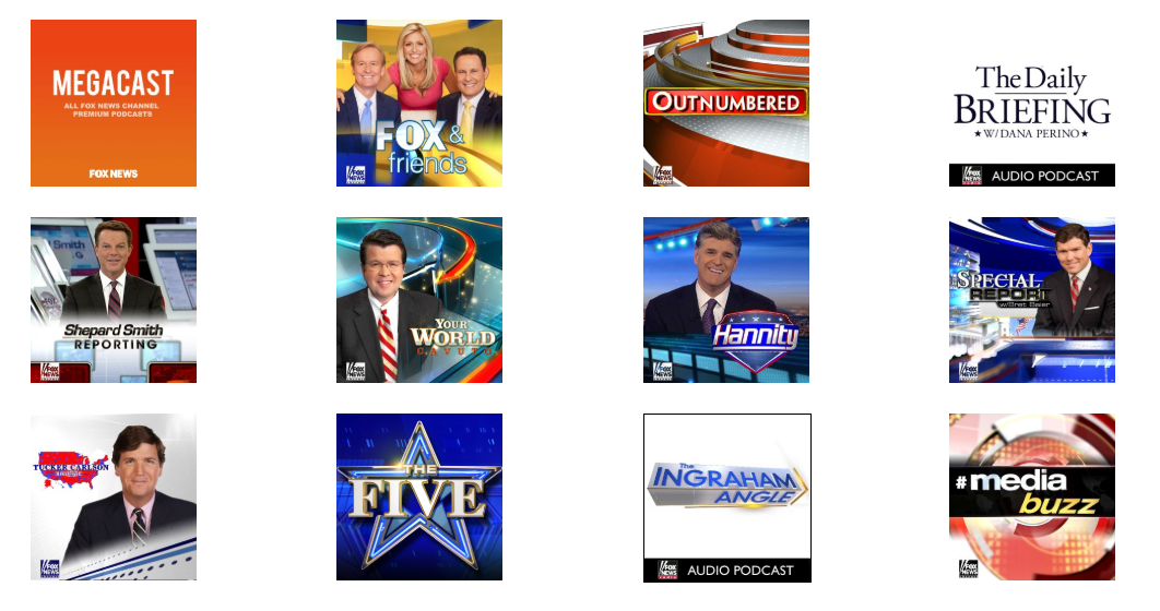 FOX News Free and Premium Podcasts