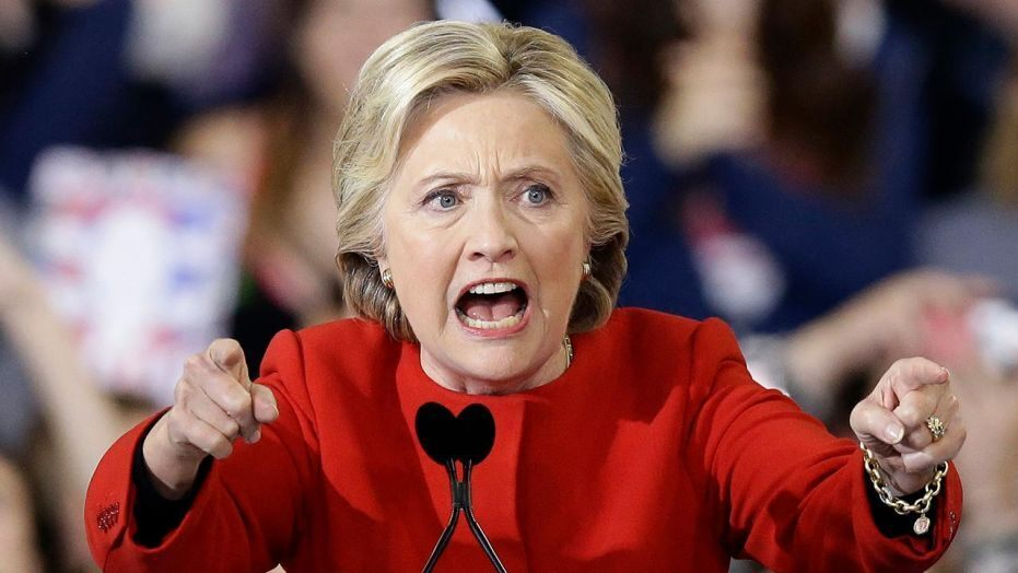 Image result for evil Hillary Clinton